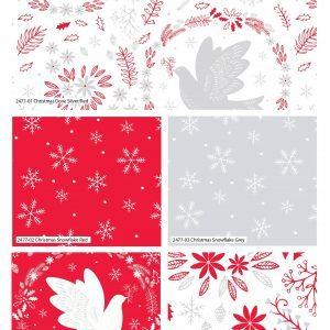 Christmas Dove Fat Quarters