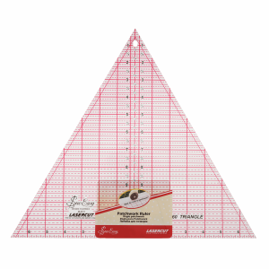 Sew-Easy Patchwork Quilting Ruler 60 Degree Triangle 8x9-1//4in by Sew Easy